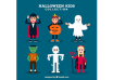 Children set with funny halloween costumes دانلود وکتور children set with funny halloween costumes دانلود وکتور Children set with funny halloween costumes vektor3 15 104x74