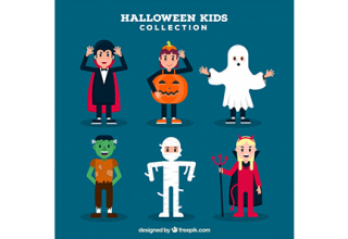 Children set with funny halloween costumes دانلود وکتور children set with funny halloween costumes دانلود وکتور Children set with funny halloween costumes vektor3 15 320x220