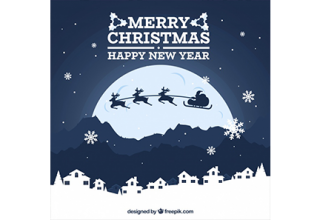 دانلود وکتور Christmas background with full moon دانلود وکتور christmas background with full moon دانلود وکتور Christmas background with full moon vektor3 26 320x220