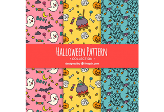 دانلود وکتور Halloween patterns with drawings دانلود وکتور halloween patterns with drawings دانلود وکتور Halloween patterns with drawings vektor3 33 320x220