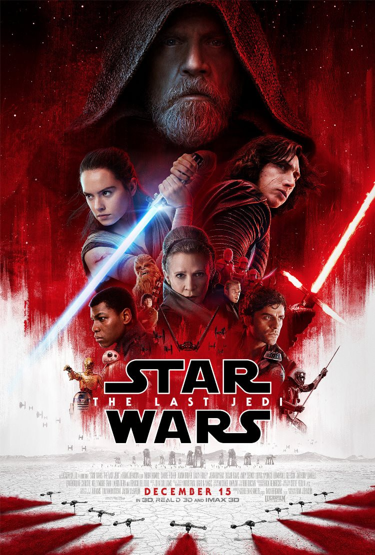 پوستر جدید فیلم Star Wars: The Last Jedi پوستر جدید فیلم star wars: the last jedi پوستر جدید فیلم Star Wars: The Last Jedi Star Wars The Last Jedi