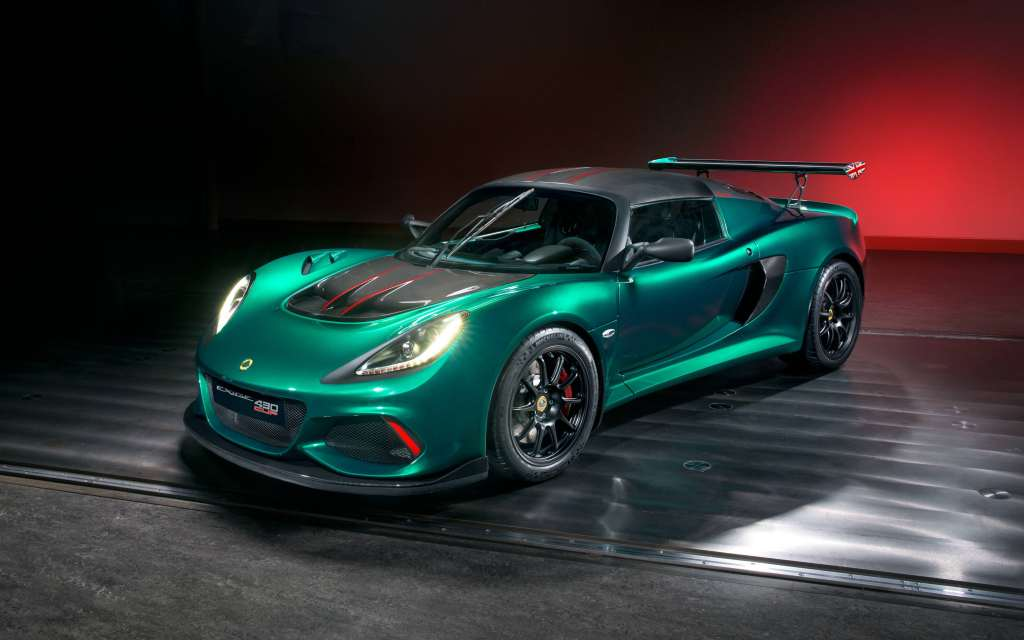 Lotus Exige Cup 430 2018 Wallpaper