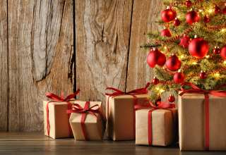 Christmas New Year Gifts Wallpaper