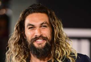 Jason Momoa Smiling Wallpaper