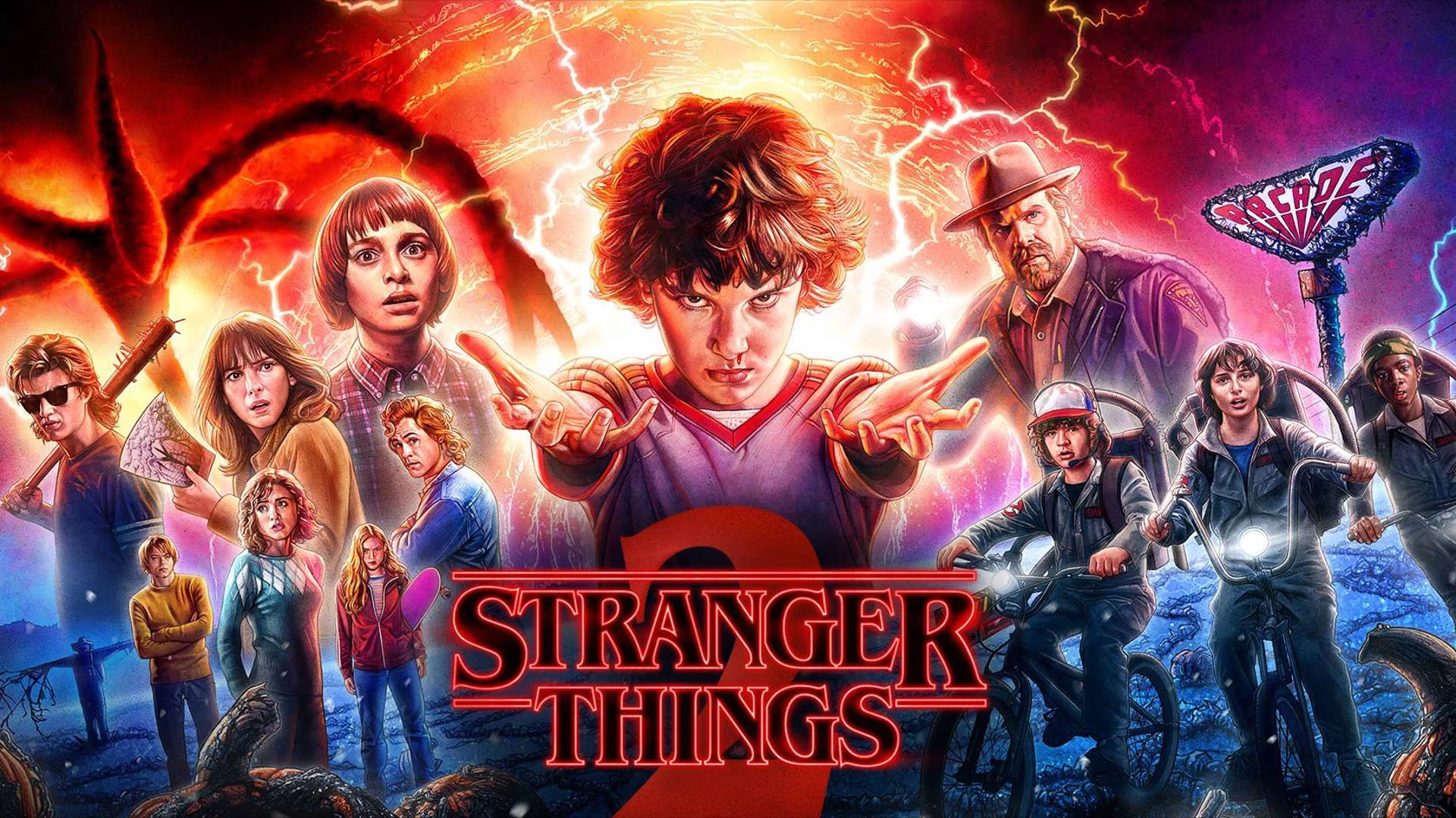 Stranger things wallpaper for Fondo de pantalla stranger things