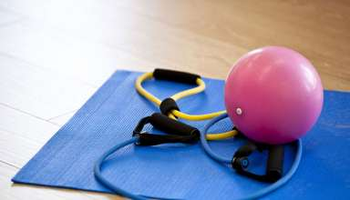 exercise-mat-medicine-ball-gym-stretching