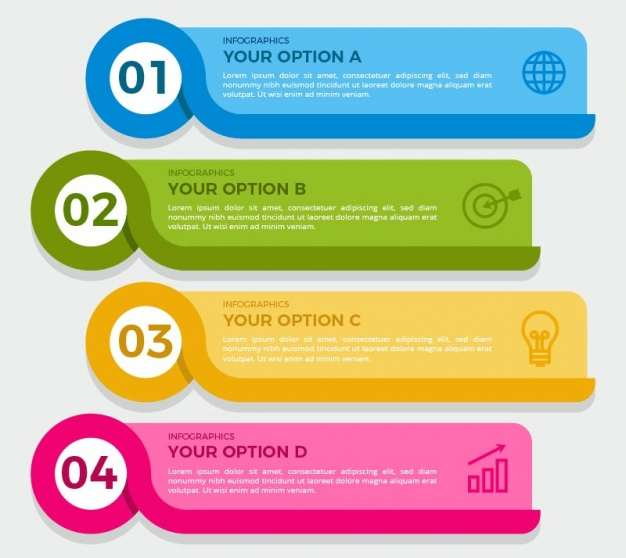 pack-of-four-colorful-infographic-banners_23-2147594401