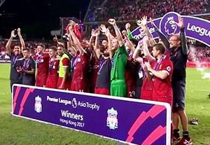 جشن قهرمانی لیورپول در لیگ برتر آسیایی