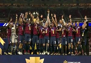 جشن قهرمانی آمریکا در جام طلایی کونکاکاف 2017
