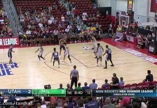 Full Highlights: Milwaukee Bucks vs Utah Jazz , MGM Resorts NBA Summer League