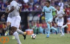 بارسلونا ۱ - ۰ منچستریونایتد؛ پیروزی دیگری برای والورده با گلزنی نیمار