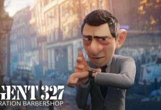Agent 327: Operation Barbershop Wallpaper
