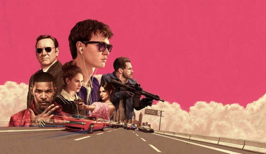 Baby Driver 2017 Wallpaper
