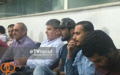 حضور بشار رسن و نوراللهی در ورزشگاه آزادی