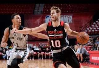 هایلایت لیگ تابستانه NBA 2017 – پورتلند بلیزرز در مقابل سن آنتونیو