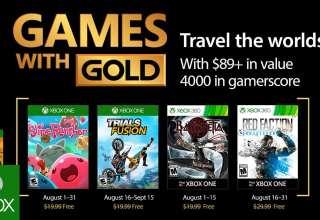 معرفی لیست بازی هایی که در ماه آگوست برای Xbox گلد شدن
