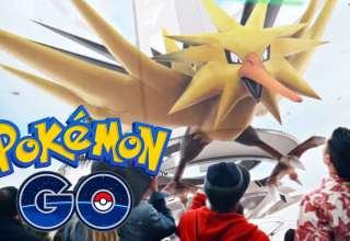 تریلری از حظور لجندری ها در بازی Pokémon GO