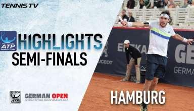 رقابت های تنیس آزاد آلمان 2017 : هایلایت نیمه نهایی