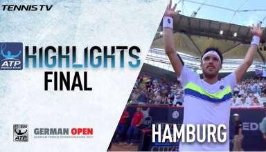 رقابت های تنیس آزاد آلمان 2017 : هایلایت فینال