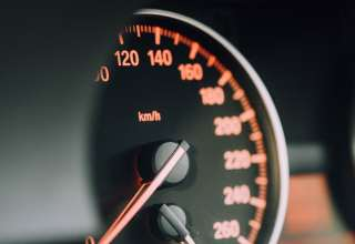 Speedometer Arrows Numbers Divisions Wallpaper