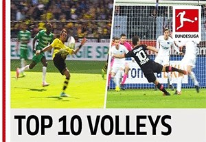10 گل برتر به سبک والی بوندسلیگا در فصل 2017-2016