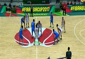 خلاصه بسکتبال ایران 101-54 هند