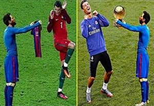 شوخی های خنده دار با عکس های جالب ستارگان فوتبال