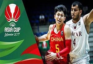 خلاصه بسکتبال چین 92-67 قطر