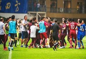 درگیری های جنجالی دنیای فوتبال
