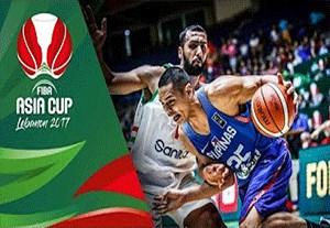 ۵ حرکت برتر نیمه نهایی و رده بندی بسکتبال آسیا