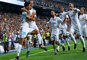 10 برد رئال مادرید در بازی های بدون حضور رونالدو