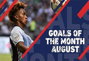 10 گل برتر ماه آگوست MLS
