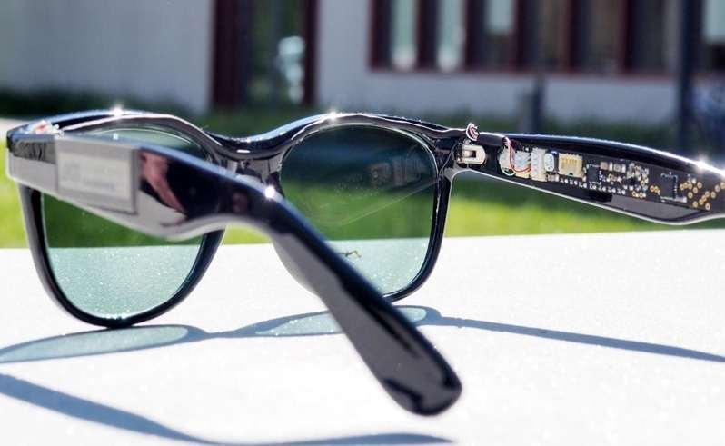 تولید برق با عینک آفتابی