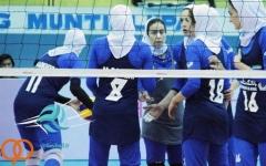 والیبال قهرمانی آسیا؛ شکست تیم بانوان ایران مقابل استرالیا