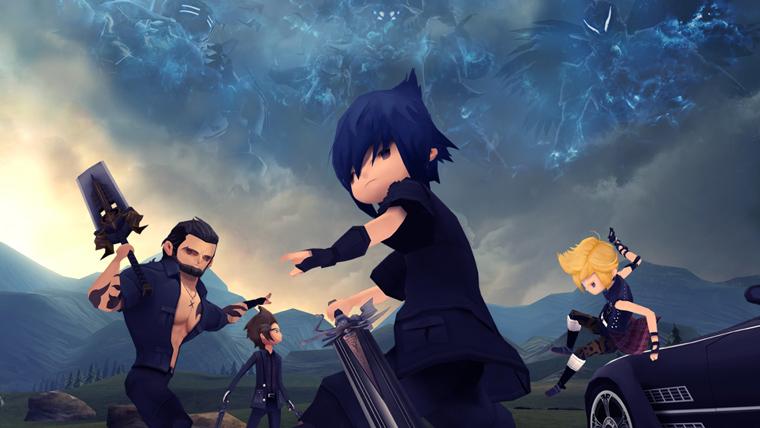 بازی Final Fantasy XV Pocket Edition برای گوشیهای هوشمند معرفی شد - گیمزکام 2017