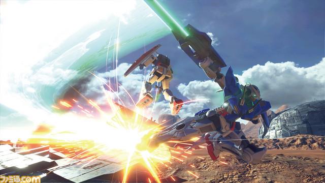 اطلاعاتی از کیفیت اجرایی نسخه پلیاستیشن ۴ پرو Gundam Versus منتشر شد
