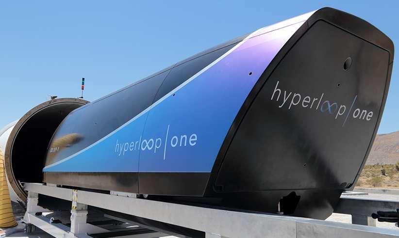 هایپرلوپ وان در آزمایش جدید خود به سرعت ۳۲۱ کیلومتر در ساعت رسید