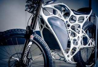 موتورسیکلت با فناوری چاپ سه بعدی تولید شد