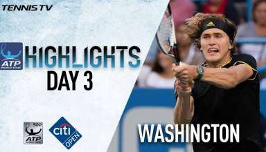 Highlights: Raonic Zverev Bhambri Win At Washington 2017 Wednesday
