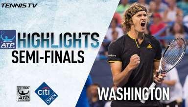 رقابت های تنیس آزاد آمریکا 2017 : هایلایت مرحله یک چهارم نهایی