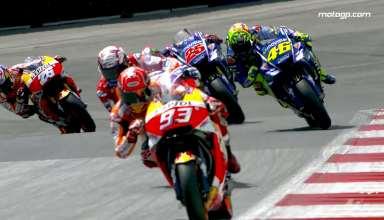 لحظات دیدنی و جذاب در رقابت های MotoGP 2017 اتریش