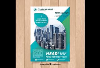 دانلود وکتور Creative business brochure