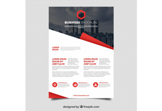 دانلود وکتور Elegant corporate brochure