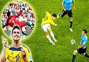 20 گل والی برتر دنیای فوتبال