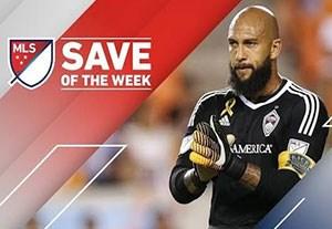 سیوهای برتر هفته 27 لیگ MLS