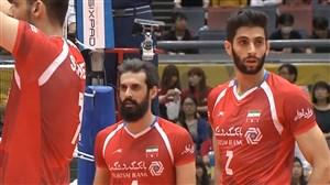 خلاصه والیبال ایران 3 - فرانسه 2 (کسب اولین مدال جهانی)
