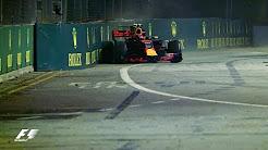 هایلایت رقابت های F1 2017 سنگاپور بخش دوم