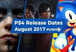 لیست 20 بازی پرفروش ماه آگوست پلی استیشن 4 منتشر شد