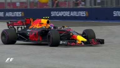 هایلایت رقابت های F1 2017 سنگاپور بخش اول
