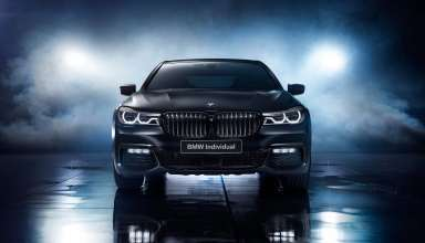 BMW 7 Series Black Ice Edition 2017 Wallpaper